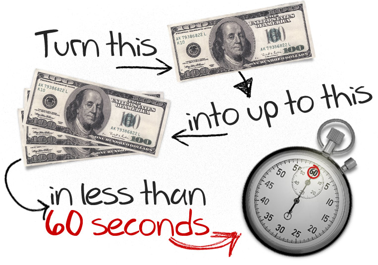 Binary options trading turn $100 into $185 every 60 seconds